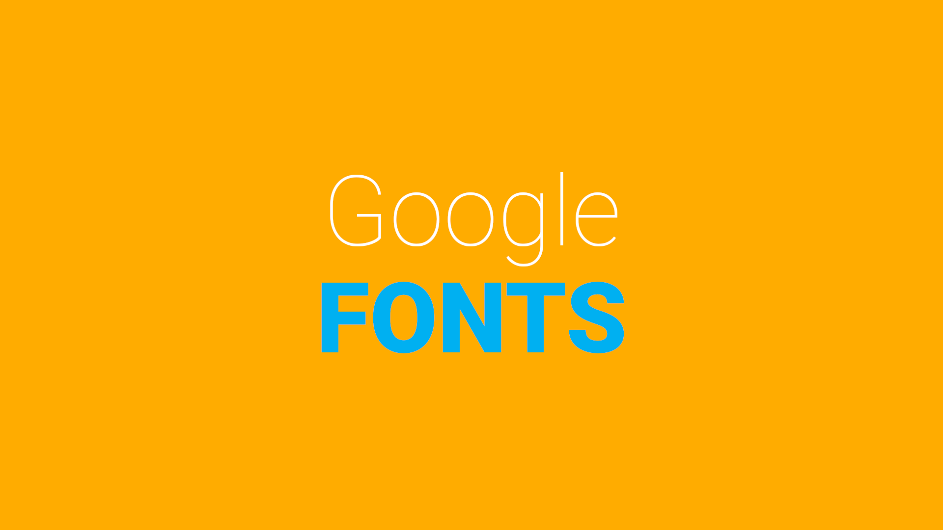 10 Google fonts for creative projects