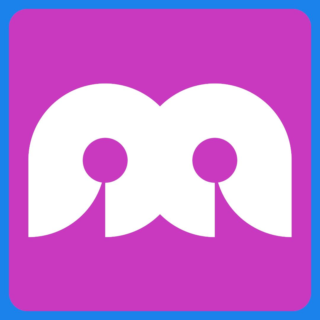 Abstract Mirror Logo