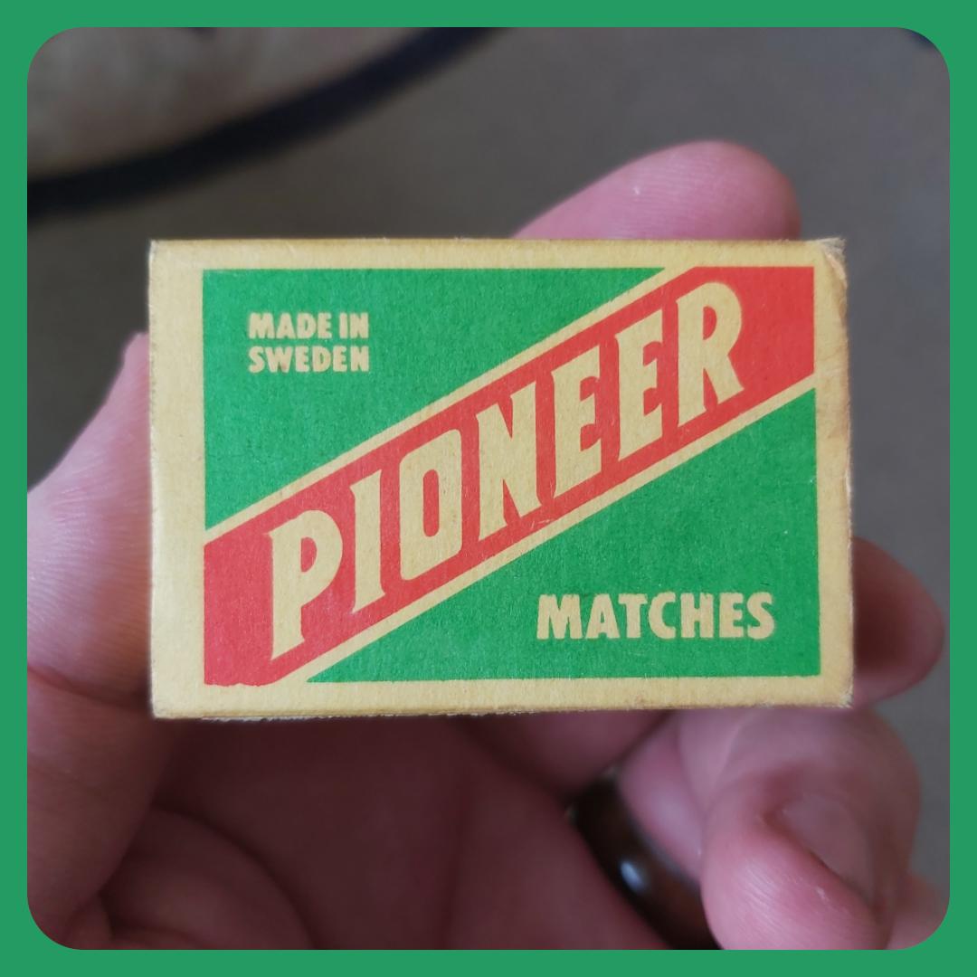 Pioneer Matchbox